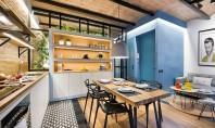Un apartament cu interioare inspirate dintr-o casa de pe plaja Reamenajarea unui apartament de 40mp din