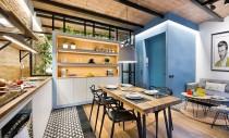 Un apartament cu interioare inspirate dintr-o casa de pe plaja