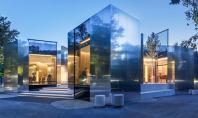 Restaurant in Viena un labirint de reflexii Echipa PPAG Architects au lucrat la proiectul de renovare