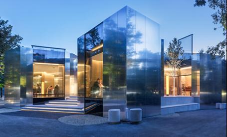 Restaurant in Viena, un labirint de reflexii