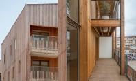 Locuinte colective prefabricate in Paris Firma pariziana Tectone a finalizat recent lucrarile la ansamblul rezidential din cartierul Auvry Barbusse, Aubervillier.