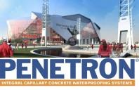 PENETRON impermeabilizeaza Mercedes-Benz Stadium