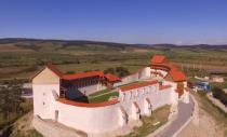 Refacută aproape de la zero, Cetatea Feldioara și-a deschis din nou porțile