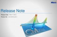 Lansare Midas Civil 2015 v2.1