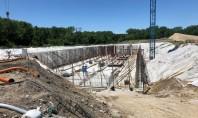 Rezervor gigant pentru stocarea apelor uzate revărsate construit cu tehnologia Penetron Sistemele de canalizare municipale din