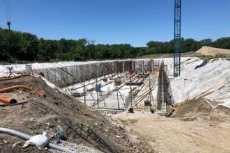 Rezervor gigant pentru stocarea apelor uzate revărsate construit cu tehnologia Penetron