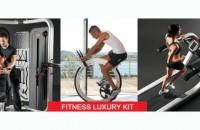 Fitness Luxury Kit - Design, Fitness, Style! Fitness Luxury Kit - Conceput pentru clientii exigenti, constienti de valoarea timpului liber!