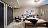 Un dormitor tipic masculin! Dormitorul unui barbat trebuie sa contureze stilul de viata al acestuia fie