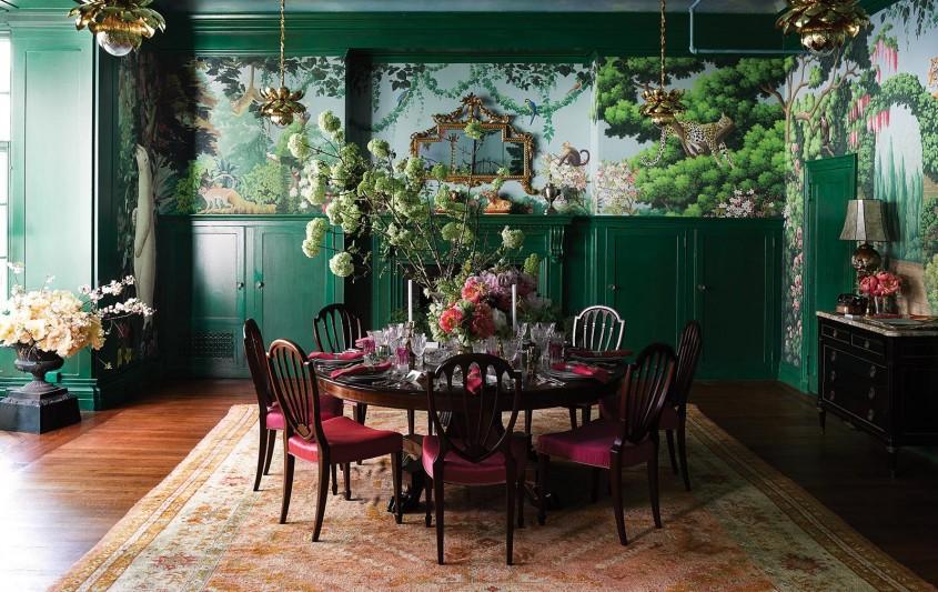 Verdele și Feng Shui. Elementul Lemn în designul de interior