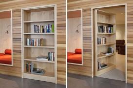 Usile secrete mascate in mobilier, utile pentru separarea completa a spatiilor
