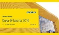Doka @ bauma 2016 Doka furnizorul international de cofraje se prezinta dintr-o perspectiva complet noua la