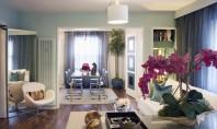 Apartament elegant in West Hollywood Designul este modern cu linii simple si elegante in care elementele