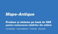 Solutii de consolidare si dezumidificare a cladirilor vechi istorice in noua brosura Mape-Antique Brosura Mape-Antique prezinta