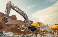 Excavatorul Volvo EC750E optimizeaza productivitatea si profitabilitatea