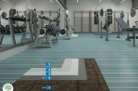 Sistem Eco pentru montajul covorului din PVC pe o pardoseală existentă din plăci ceramice