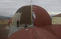 Abordarea montajului pentru structuri ale invelitorilor cu configuratie rotunda