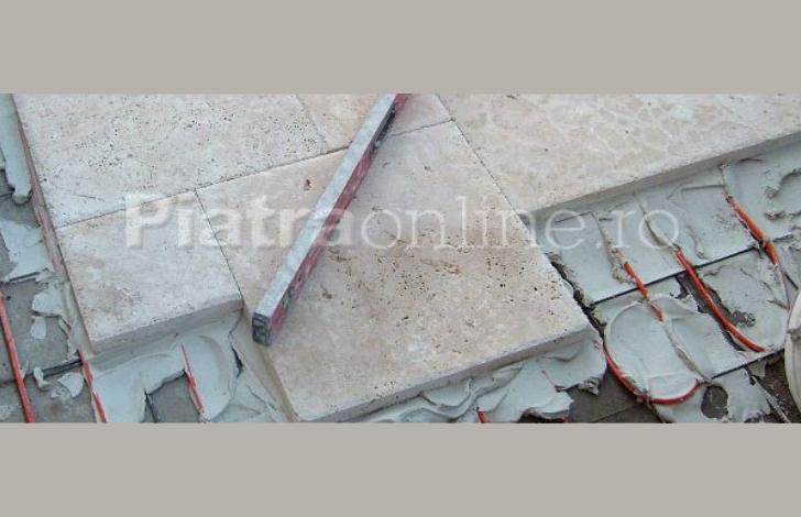 Montajul pietrei naturale pe terasa: 10 pasi