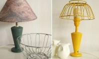 De la cos pentru fructe la abajur de lampa Lampile cu abajur de metal nu sunt