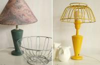 De la cos pentru fructe la... abajur de lampa