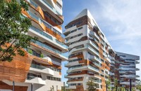 Complexul rezidential semnat de Daniel Libeskind si Zaha Hadid aproape de final