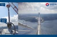EverSense, sistem de monitorizare structurala implementat peste al treilea pod peste Bosfor - simbolul Turciei moderne