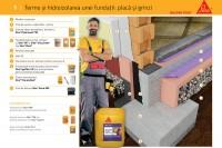 Termo și hidroizolarea unei fundații: placă și grinzi