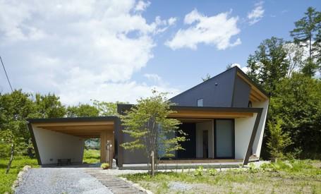 Vila Yatsugatake, o volumetrie asemeni unui origami