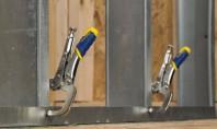 Cleste autoblocant pentru sudura Bratul cu deschidere mare al clestilor ofera mai multa versatilitate la prinderea