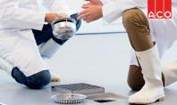 ACO lanseaza campania HygieneFirst Am integrat in sistemele de colectare a apelor uzate principiile designului igienic