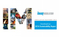 Knauf Insulation atinge un obiectiv important in provocarea pentru sustenabilitate pe care a lansat-o pana in 2020