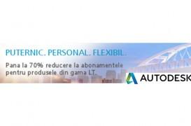 Reducere 70% la abonamentele AutoCAD LT pe 3 ani
