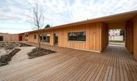Bungalourile White Pine casa pasiva pentru un cuplu in varsta Amplasata in Austria constructia cu un