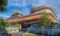 O scoala plina de culoare in Singapore