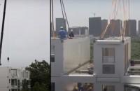 Cum este ridicat un bloc de zece etaje în mai puţin de 29 de ore (Video)