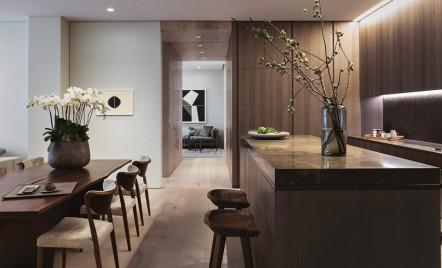 Primul apartament amenajat în clădirea lui Tadao Ando din Str. Elisabeta