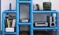 Intrebuintari inedite pentru tevile din PVC La fel ca sfoara si recipientele din sticla tevile din