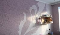 Tapetul Lichid (Tencuiala Decorativa de matase) - material alternativ pentru decorarea peretilor Variatatea larga de culori