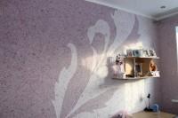 Tapetul Lichid (Tencuiala Decorativa de matase) - material alternativ pentru decorarea peretilor