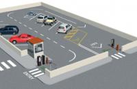 Sistemul automat de parcare cu cod de bare Came România Sistemele automate de parcare Came pot fi dotate, opțional, cu sisteme PGS (Sisteme de Ghidare dotate cu Senzori cu Ultrasunete și Indicator Luminos cu LED)