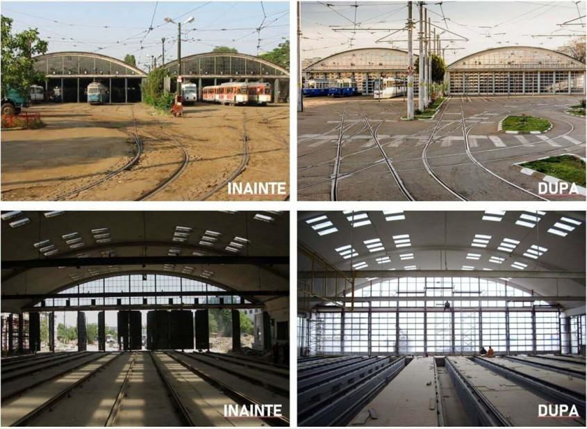 Studiu de caz: Uși secționale industriale pentru reabilitarea Depoului de tramvaie Dudești