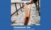 Sisteme de expansiune in contact cu apa: PENEBAR SW45 rapid TM Tip A si Tip B Grupul PENETRON este un producator cu produse de specialitate pentru constructii, hidroizolare si impermeabilizare beton, reparatii structuri de beton si sisteme de pregatire a pardoselilor.