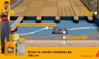 Balcon finisat cu deck – soluţie tehnică 1 Placă din beton armat aditivat cu Sika® ViscoCrete®