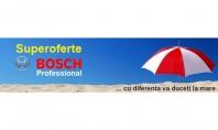 Superoferte Bosch Professional - cu diferenta va duceti la mare Promotii la sculele cu acumulator BOSCH