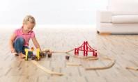 Parchet din pluta - pardoseala ideala pentru camera copilului