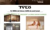 Pe TERRA toti folosesc SAUNA de cand lumea! Urmeaza chemarea: 8% discount la orice sauna suedeza!