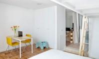 Cum pot doua persoane sa traiasca si sa lucreze intr-un apartament de doar 65mp Acest proiect