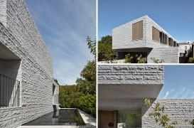 Proiectul unei case în care abundă granitul
