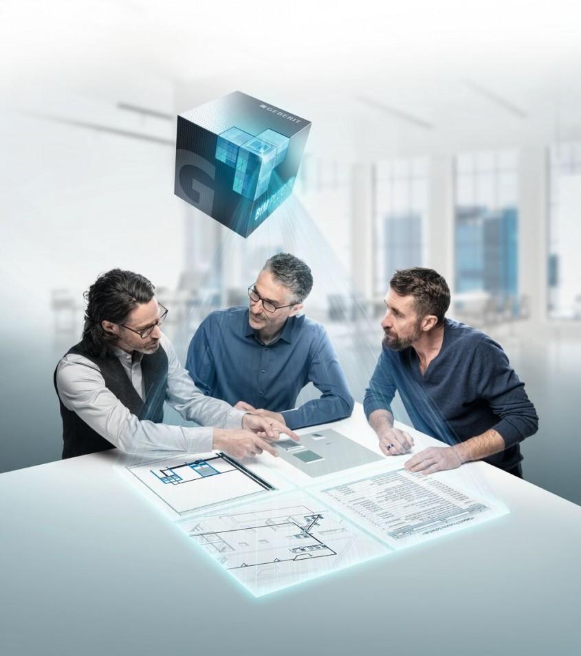 Geberit BIM – informații inteligente pentru proiectare digitală