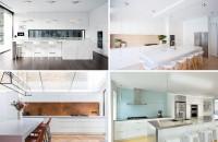 Idei pentru panourile de perete dintr-o bucătărie albă