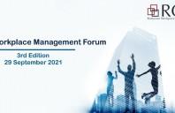 Romanian Workplace Management Forum, 29 septembrie – București